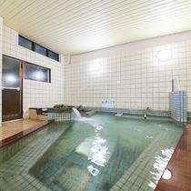 *【大浴場/男】温泉ではございませんが、広いお風呂でゆっくりとお寛ぎください。