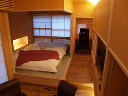 書斎のあるお部屋「橙」
