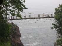 名勝 城ヶ崎のつり橋