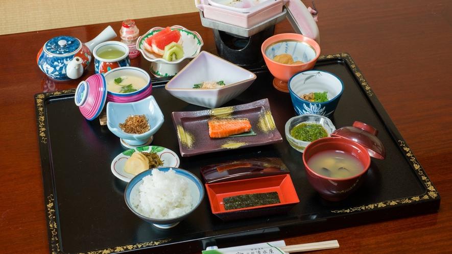 *ご朝食一例/旅館の朝食でたっぷり栄養補給