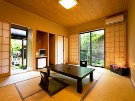 専用半露天風呂付離れ客室◆和室10畳