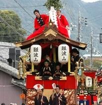 亀岡祭り神輿