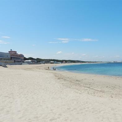 【素泊まり】感動オーシャンビュー!阿字ヶ浦海岸目の前の絶景を気軽に楽しむ
