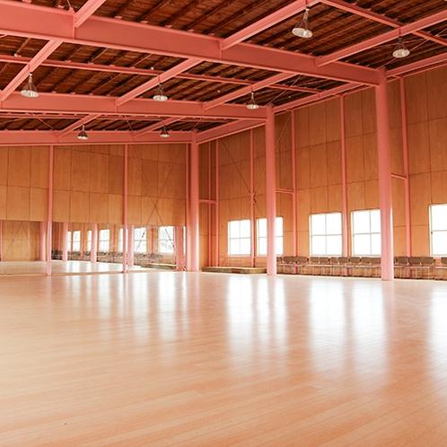 *[体育館]当館隣接/小さめの広さですがダンス等にご利用いただいております。