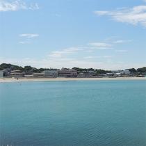 *[阿字ヶ浦海岸海水浴場]茨城で1、2位を争う人気ビーチは当館目の前!