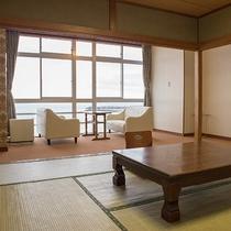 *[客室一例]どのお部屋も広さ10畳以上を確約!広めのお部屋でゆっくりとおくつろぎください。