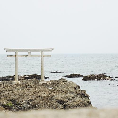 *[大洗磯前神社]当館より車で約20分/風光明媚な景色を堪能できます。