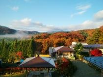 客室からの眺め 秋