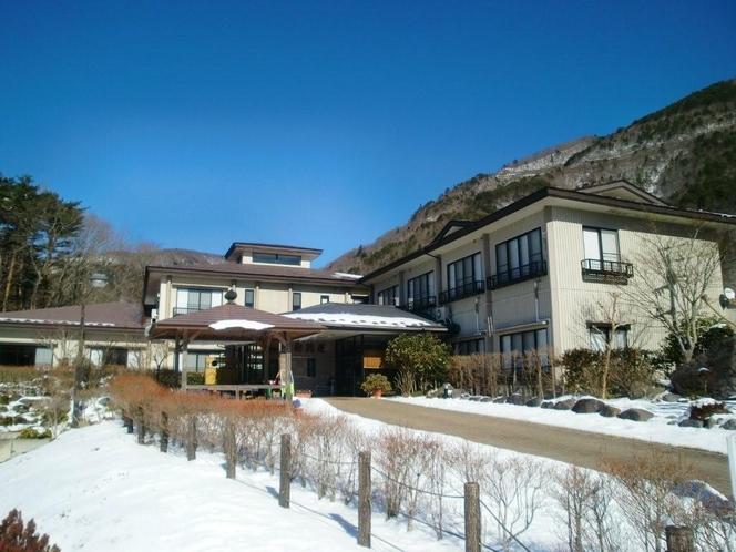 梅川荘外観★冬景色★