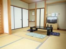 【和室206】広さ9畳+7畳の2部屋