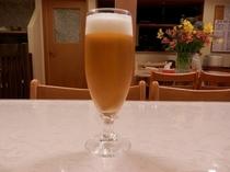 月山地ビール生(グラス)