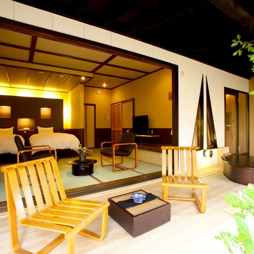 ■露天風呂付き客室■別邸〜桜桃庵で優雅なひと時を〜