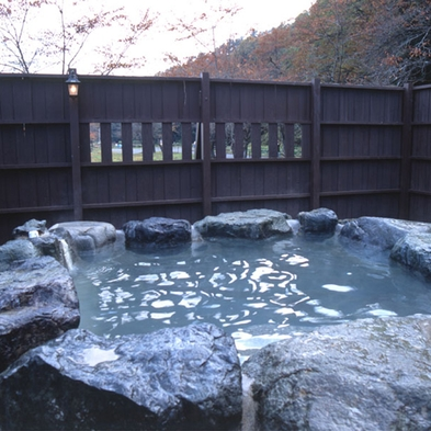 【朝食付きプラン】チェックイン21時までOK!露天風呂で楽しむ美肌の湯