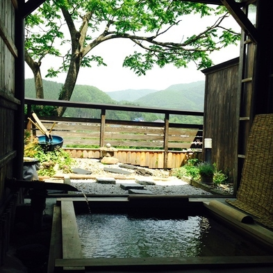 ◆二間続き客室◆ 湯っくりと☆貸切露天風呂満喫プラン♪【禁煙室】
