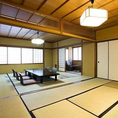 【敦盛草-ATSUMORISO-】(和室12畳+8畳、又は10畳+4畳)一例