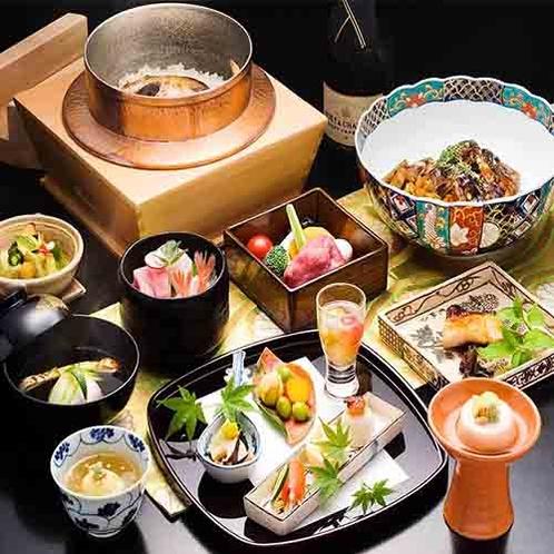 季節の食材を《お部屋で》ゆっくりお楽しみ下さい。*写真はイメージ