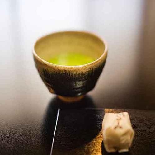 ゆっくりお過ごしいただくはじまりを、抹茶とともに。