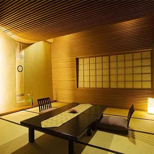 【東一花-AZUMAICHIGE-】メゾネット温泉露天付スイート、和室