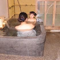 ■客室露天風呂■周りを気にせずご家族でお楽しみいただけます♪