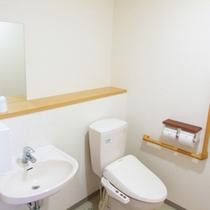 ■客室トイレ■清潔&バリアフリーで安心です。