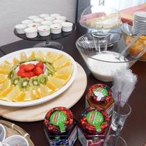 朝食の一例です。