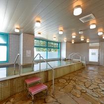 ■大浴場(男性)■国民保養温泉地に指定された「別府堀田温泉」を広々とした大浴場で堪能♪