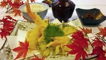 天ぷら御膳一例