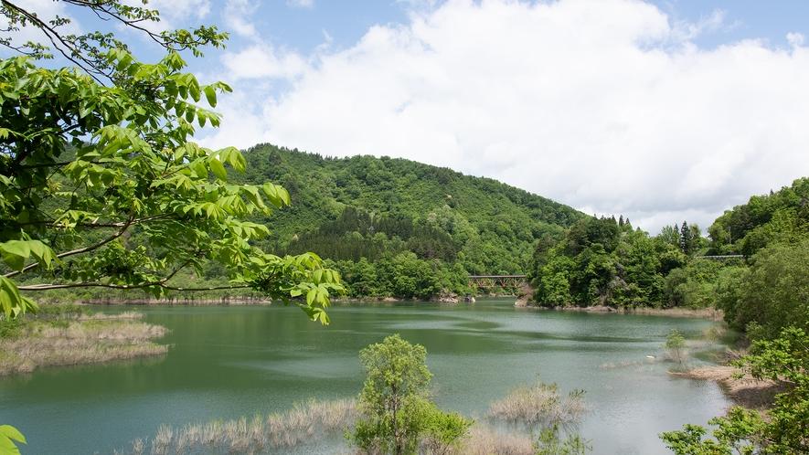 *白川湖ダム