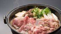 *米沢牛たっぷり!牛鍋