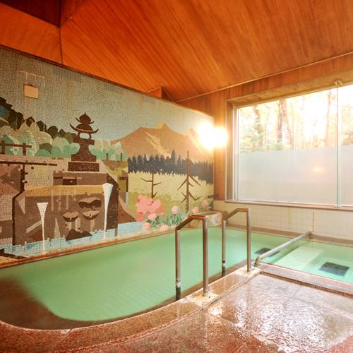 24時間源泉かけ流し「大浴場」