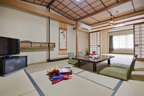 和室でくつろぐ素泊まりプラン