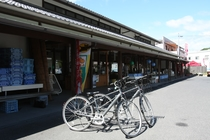 旅館近くの道の駅 御島