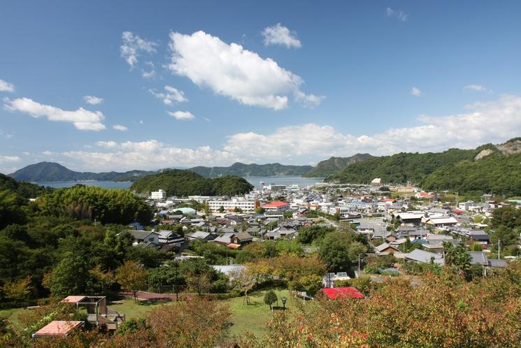 大三島の町並み
