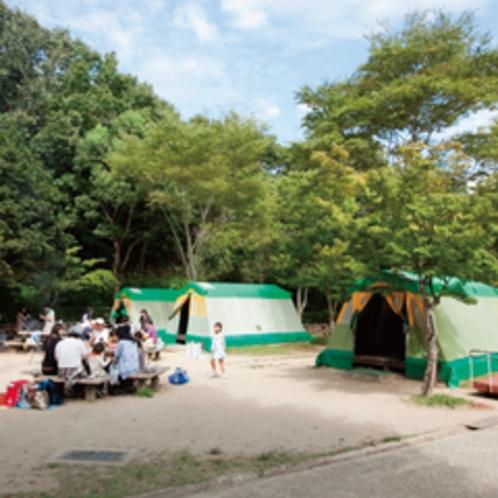テントキャンプ場
