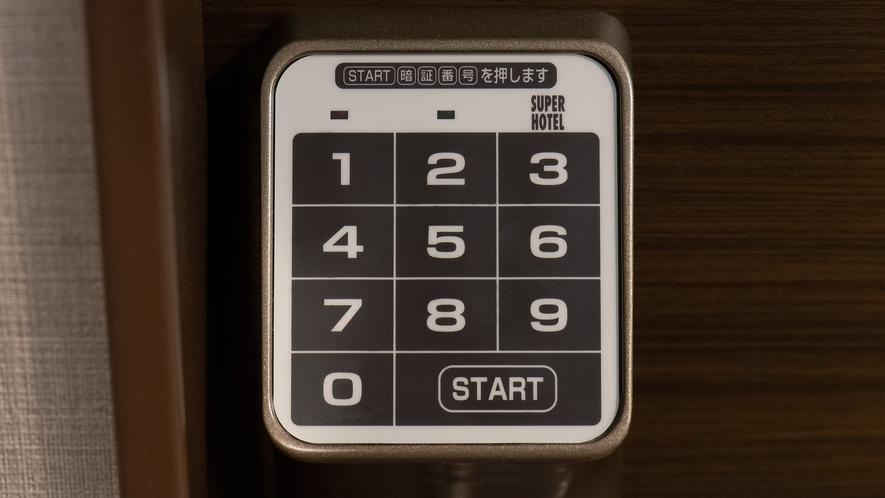 【Smart】鍵がないので楽々チェックアウト♪