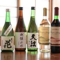 信州の地酒を豊富に取り揃えています♪