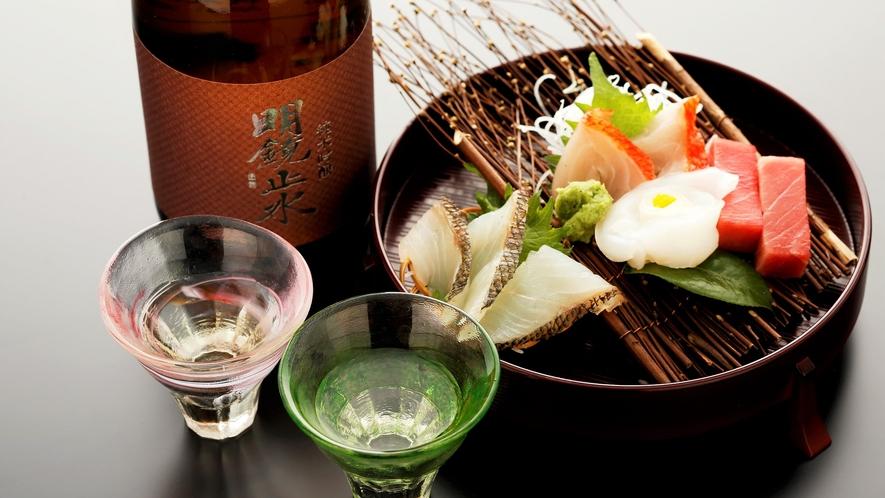 ■地酒や全国の美味しいお酒を豊富に取り揃えております
