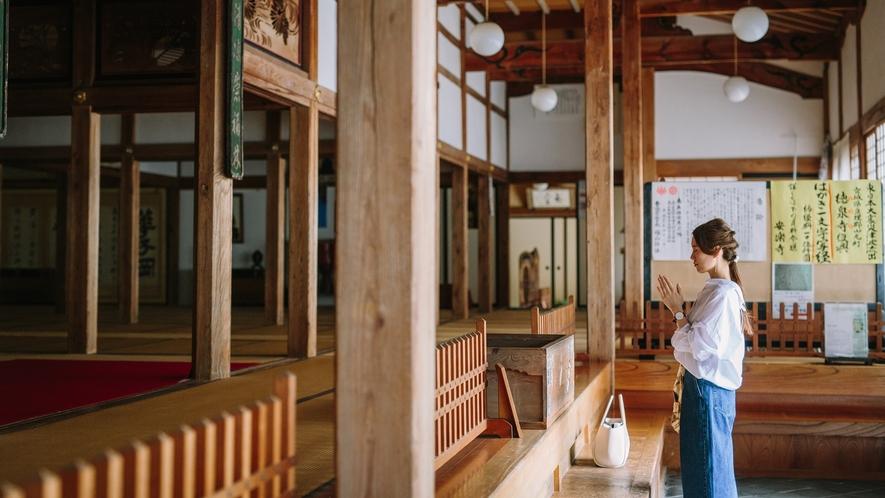 ■北向観音 長野の善光寺とセットで両参りを 当館より徒歩3分