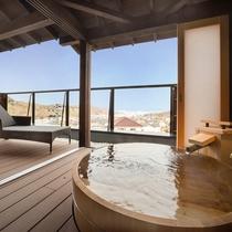 展望露天風呂付きの特別室