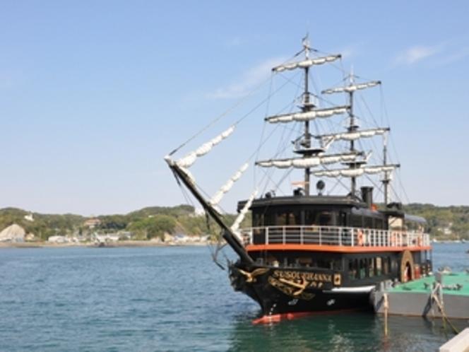 下田湾の黒船