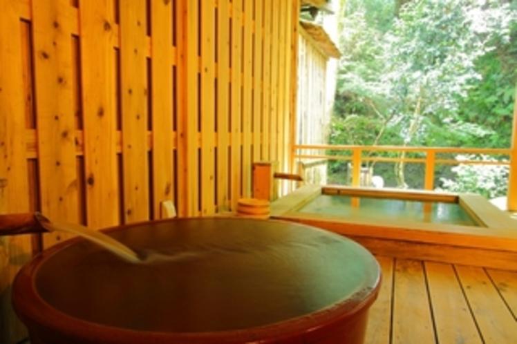 客室 露天風呂