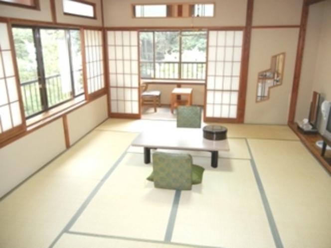 和室10畳+次の間+広縁(一例)