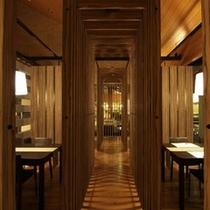 レストラン(木調)500