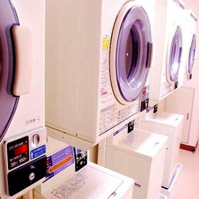 【コインランドリー】洗濯機:洗剤不要1回200円乾燥機:30分100円
