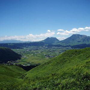 【大観峰からの景色】お車約1時間♪