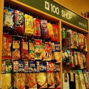 【100円ショップ】お菓子、おつまみ、雑貨までおいています