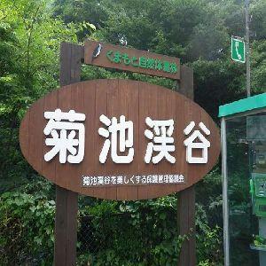 【菊池渓谷】お車約1時間♪日本名水百選です。