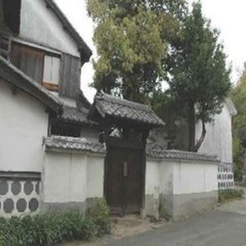 【御馬下の角小屋】徒歩約3分♪篤姫が鹿児島から江戸に向かう途中休憩したという場所です