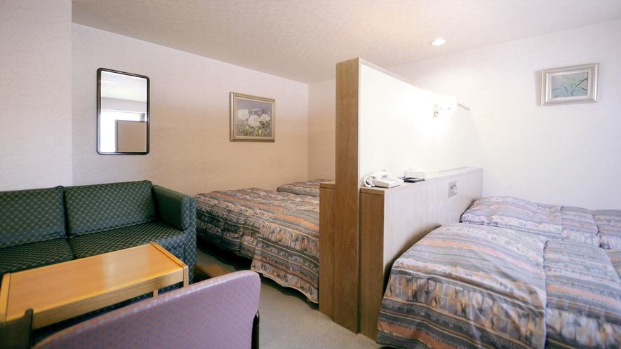 【フォース】ご家族やグループの宿泊におすすめの4ベッドルームです。