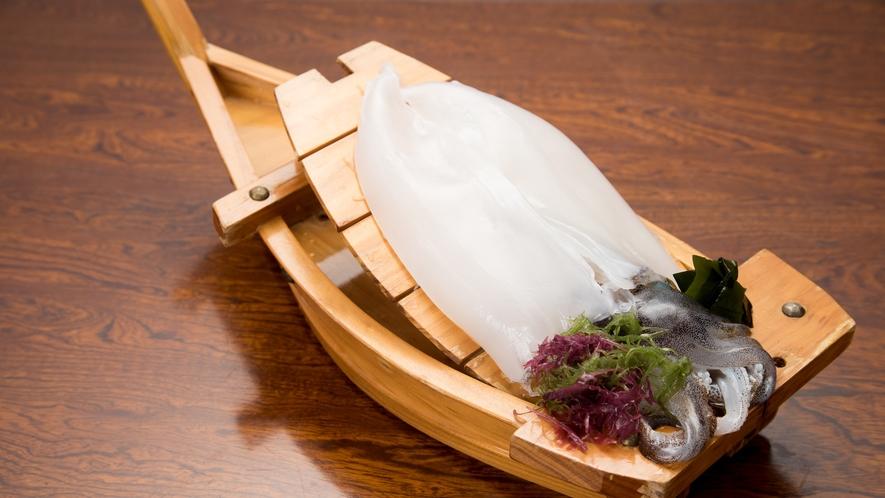 *【夕食/イカ】独特な歯ごたえがたまらない!甘~いイカはいかが?